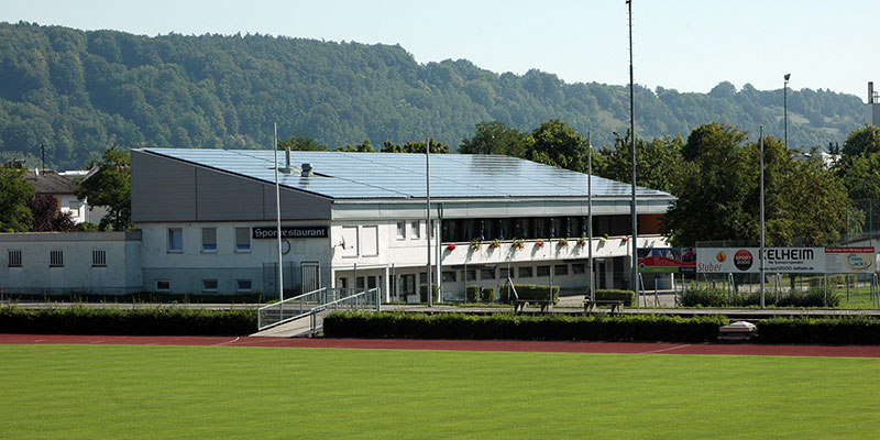 Sanierung des ATSV-Sportheims in Kelheim